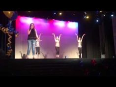cup song talent show (tap dance)