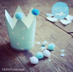 25 paper cup crafts (awesome fire-breathing dragon & a princess popping out of a castle project)