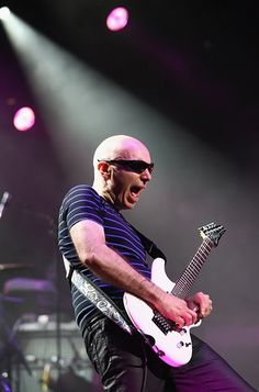 Joe Satriani performs during the G3 2012 tour at Palais Theatre in Melbourne, Australia on March 31st, 2012.