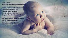 nou nascut poezie iubire inocenta nastere mama copil tata Dumnezeu rai inger Diana Maria Teodorescu Bahnareanu Wrinkles on my timeline