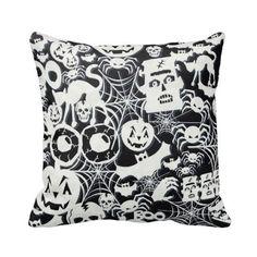 Halloween Shopaholic: Spooky and Creepy Throw Pillows for Halloween