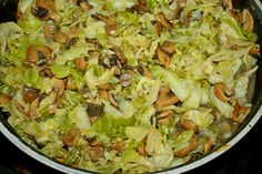 Sprouts, Cabbage, Vegetarian, Dishes, Vegetables, Recipes, Food, Diet, Tablewares