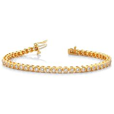 Diamantarmband 4.00 Karat aus 585er/750er Gelb- oder Weißgold  #diamantarmband #diamonds #diamante #diamanten #gold #schmuck #diamantschmuck #juwelier #abt #dortmund
