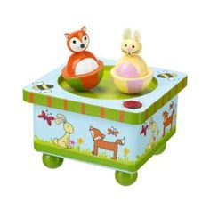 Orange Tree - Woodland Friends - Wooden Music Box * Check this awesome image…