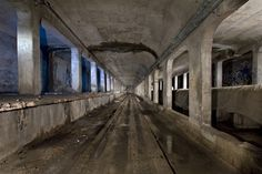 Cincinnati's abandoned subway system.