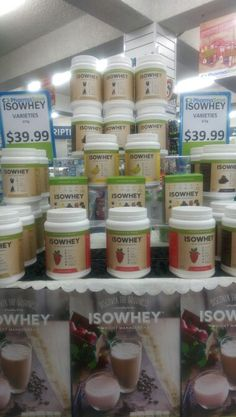 IsoWhey Complete is much more than a protein powder; it's a unique formulation that supports healthy fat loss and digestive health; and it's a program that guides you every step of the way with fresh recipes and fitness tips.  IsoWhey Complete contains the highest grade whey protein that will keep you fuller for longer and maintain muscle mass whilst you lose fat. Plus, added nutrients including 12 vitamins and 11 minerals provide you with balanced nutrition.  IsoWhey Complete also contains…