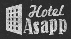 Hotel Asapp, Logo Designing, Logo's Designed By Anil Designer