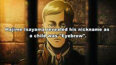 Shingeki no Kyojin. Attack on Titan. Hajime Isayama. Anime facts