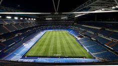 Real Madrid, Basketball Court, Logo, Sports, Santiago, Hs Sports, Logos, Sport, Environmental Print