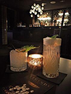 Das Hyatt in Köln hat seine Cocktailbar neu gestaltet - nur ein Beispiel aus meiner Drinks and Bars-Sammlung-