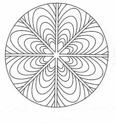A mandala is a spiritual and ritual symbol used in Hinduism and Buddhism that represents the universe. The basic design of a mandala i. Doodle Coloring, Mandala Coloring Pages, Coloring Book Pages, Coloring Sheets, Mandalas Painting, Mandalas Drawing, Dot Painting, Mandala Pattern, Zentangle Patterns