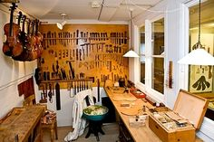 A violin maker's workshop - Royalty Free Images, Photos and Stock Photography :: Inmagine