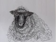 Image result for henry moore sheep drawing