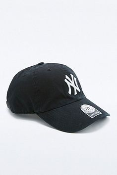 47 Brand MLB NY Cleanup Cap - Urban Outfitters