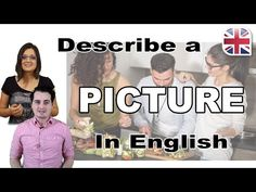 How to Describe a Picture in English - Describe an Image - Spoken English Lesson - YouTube