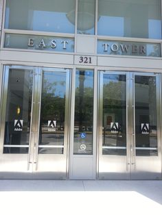 21.07.14 | entrance to the adobe conference