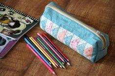 Patchwork Designs, Zip Around Wallet, Coin Purse, Quilts, Purses, Bags, Pencil, Handbags, Handbags