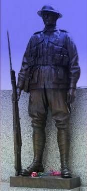 WWI Australian Soldier, War  Memorial