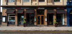 Dinner at Vittoria on the Bridge, Edinburgh with Gemma, Leanne and Ryan. 21st April 2015.