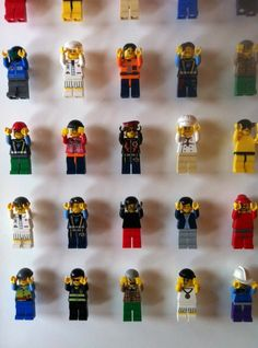 There are so many different types of little LEGO people, from construction workers to chefs to sailors, and creative consulting firm Acrylicize found a perfect new way to put those little guys to use. The art collective and consulting agency's main specialty is producing unique interior art schemes that add value to an individual space. …