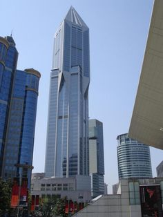 Tomorrow Square 明天广场, John Portman & Associates architects designed in 1997 completed in 2003