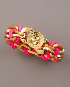 OR, this one...Fluoro Turnlock Bracelet by MARC by Marc Jacobs at Neiman Marcus.