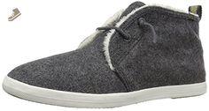 Keds Women's Chillax Chukka Wool Faux Shearling Fashion Sneaker, Charcoal, 5 M US - Keds sneakers for women (*Amazon Partner-Link)