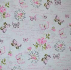 Pique Premium Flores Mariposas 433 Bullet Journal, Crochet, Vestidos, Decorating Rooms, Trapillo, Pique, Ganchillo, Crocheting, Knits
