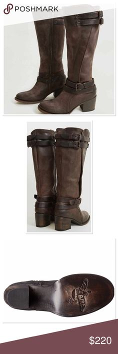 NWOB FREEBIRD Clive Boots The perfect boots to complete the the cool layed back Boho look. Great with skinny Jeans or a boho dress. Never worn distressed look is part of the design. Leather sole, leather insole, leather upper., Freebird Shoes