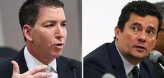 (Foto: Agência Senado   ABr) Glenn Greenwald, Sergio Moro, Brazil, Journaling, Truths, Pathological Liar, Sad, I Will Protect You