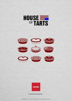 what if series were made by food lovers? funny posters by zomato production
