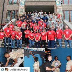 #Repost @dwighthoward  #Repost @houstonrockets  Howard Lawson & Capela helping renovate MECA Community Center with local military organizations. #HoopsForTroops #RocketsGiveBack