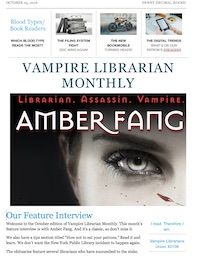 Amber Fang: Librarian. Assassin. Vampire. — Arthur Slade: Worlds of Wonder & Imagination