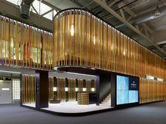 Exhibition booth Leroy Perrelet Baselworld,  Switzerland, by Manini Pietrini Architects