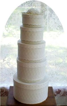 Fabric Covered Hat Boxes