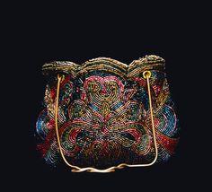 Elegant beaded evening bag by shopthebigeasyworld on Etsy