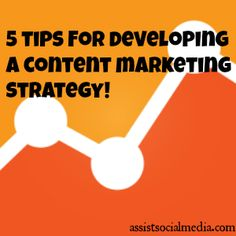 5 Tips For Developing A SEO Content Marketing Strategy #SEO