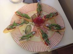 Canapé de anchoa con mermelada de pimientos (receta de Eva Master Chef)