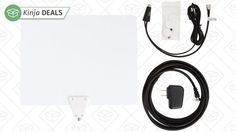 If you've tried an unamplified HDTV antenna like the Mohu Leaf, but can't quite pull in every channel you want, this AmazonBasics leaf-style model includes a USB-powered amp that should add a few miles of range. All you have to do is plug it into your TV's USB port or the included USB wall charger.
