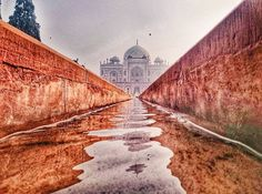 Good morning Delhi from Humayun's Tomb.  Picture & Word Credits: @abhiandnow  #vsco #vscocam #delhi #india #indiapictures #incredibleindia by indiapictures