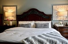 Transitional bedroom project by Dominika Pate Interiors Master Bedroom, Bedroom Decor, Transitional Bedroom, Interior Design Services, Design Projects, Upholstery, Interior Decorating, Interiors, Modern