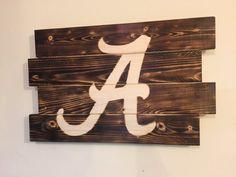 Small University of Alabama football man by MonogramedMemories