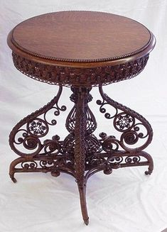 Victorian End Table.