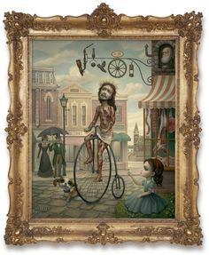 'Main Street USA' Mark Ryden. I love Mark Ryden. I love Mark Ryden. I love Mark Ryden. I love Mark Ryden. I love Mark Ryden.