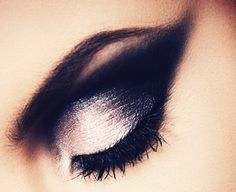 black and grey make up