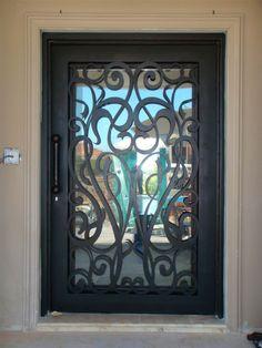 Lowes Wrought Iron Security Doors/wrought Iron Interior Door/iron ...