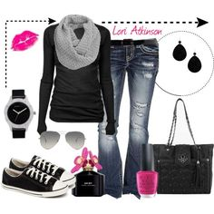 """Casual"" by Lori Atkinson on Polyvore"