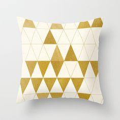 My Favorite Shape Throw Pillow by Krissy Ðiggs - $20.00
