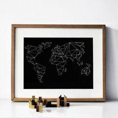 """Print """"geometrical world"""" von Na.hili jetzt auf newniq.com"""