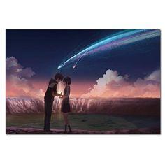 Your Name Taki and Mitsuha Canvas Poster - 40X60cm
